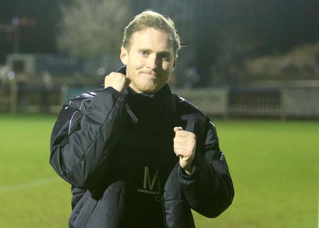 Happy manager - Harry Wheeler is pleased that Billericay Town are now self-sustainable Picture: NICKY HAYES/iCORE LTD