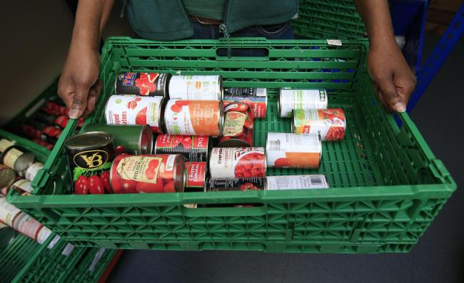 Starving families at 'all-time-high' as 1,000 food parcels handed out in six months
