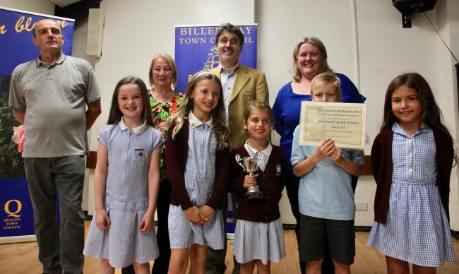 Winners - Buttsbury Infants School won the Best School Vegetable Plot Award