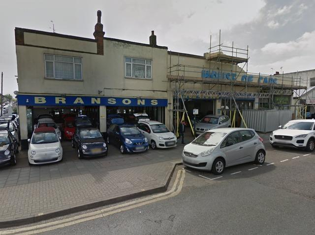 Site - the owner has applied to build a four-storey block of 14 flats