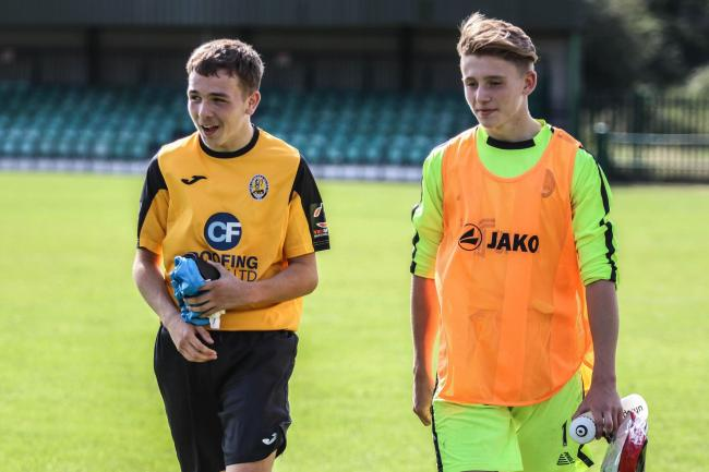 Hoping to get a chance - Jack Coventry-James was named on the bench for the first time at Cray Wanderers Picture: JACQUES FEENEY
