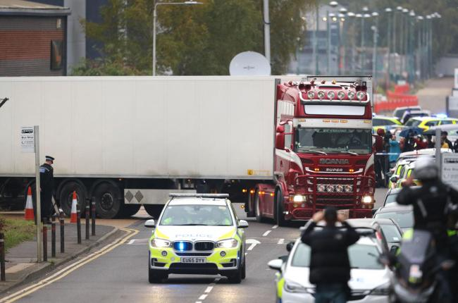 Police begin grim process of identifying victims of lorry tragedy