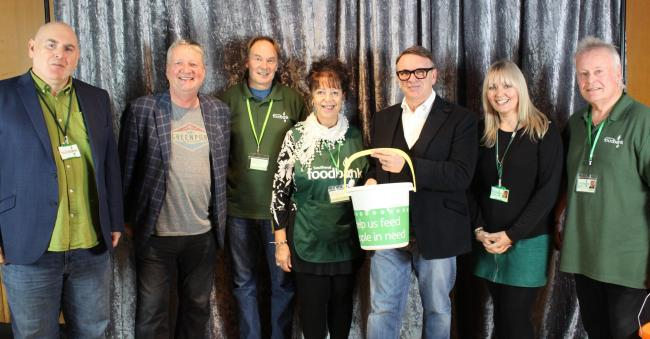 Southend and Glenn Tilbrook & Chris Difford with volunteers