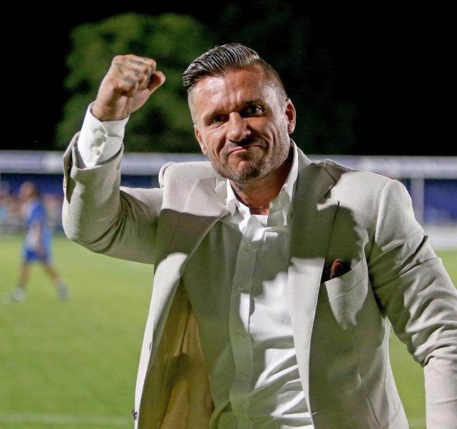 Now at Romford - former Billericay Town owner Glenn Tamplin Picture: NICKY HAYES/iCORE LTD