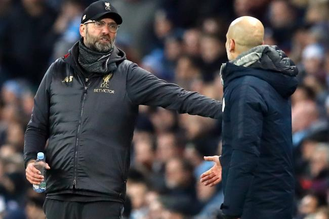 Jurgen Klopp has said he respects the Manchester City side managed by Pep Guardiola