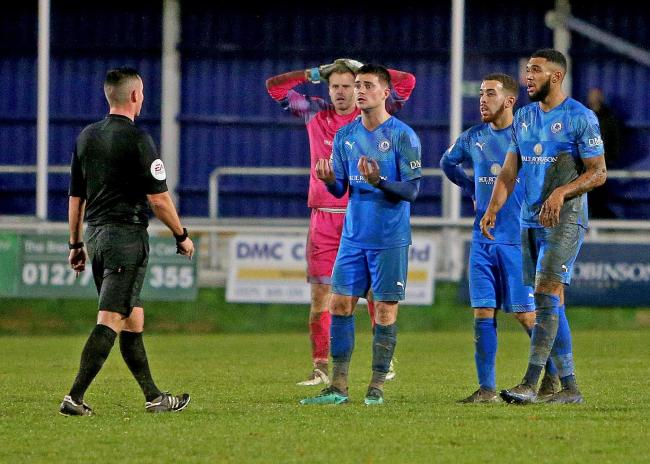 Looking to bounce back - Billericay Town were knocked out of the FA Trophy in controversial circumstances in midweek Picture: NICKY HAYES/iCORE LTD