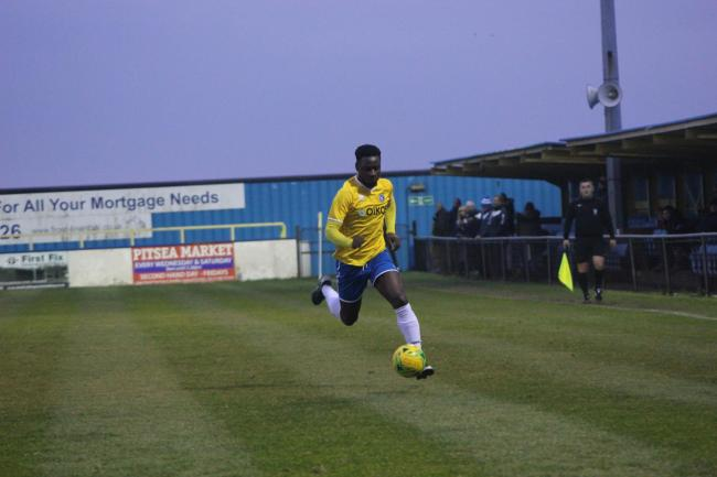 Left Canvey Island - Josh Hutchinson Picture: KJA SPORTS IMAGES