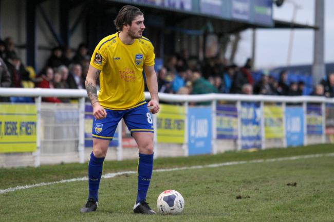 On the ball - Concord Rangers' Kreshnic Krasniqi Picture: PAUL RAFFETY