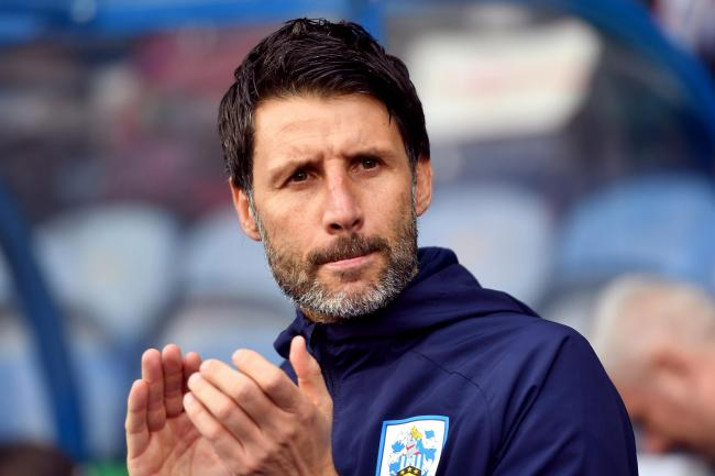 Following his former club's fortunes - Huddersfield Town boss Danny Cowley