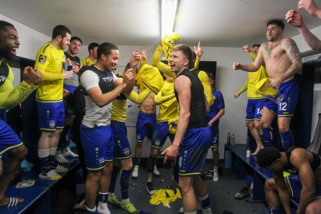 History - Concord Rangers were in the quarter-finals draw for the first time Picture: PAUL RAFFETY