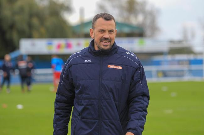 Big game - for Concord Rangers boss Danny Scopes  Picture: PAUL RAFFETY