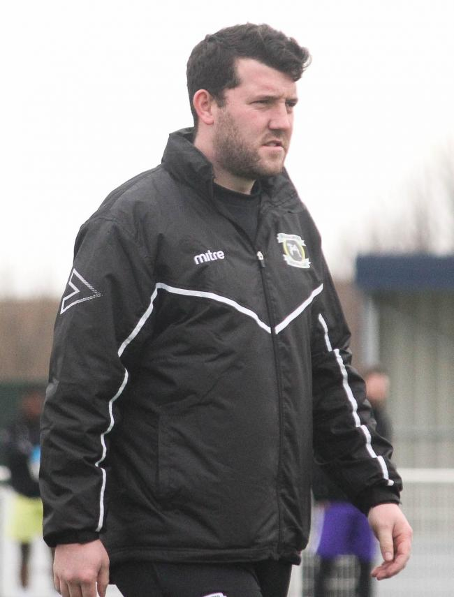 Understanding the situation - Basildon United boss Alex Salmon Picture: MATTHEW THOWNEY