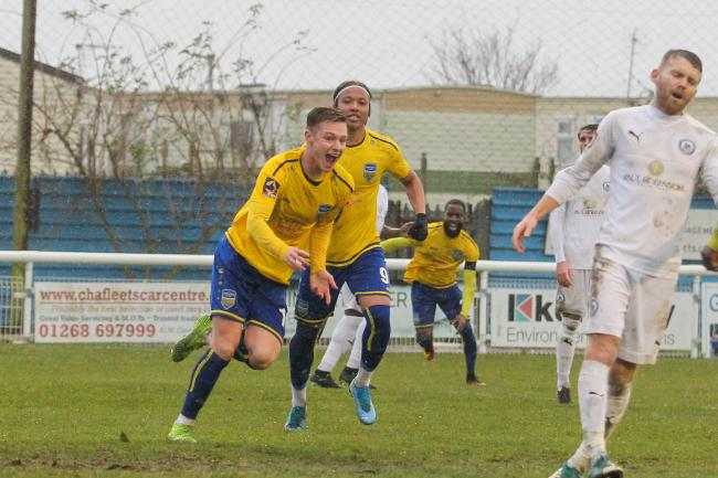 On the scoresheet - Concord Rangers' James Blanchfield Picture: PAUL RAFFETY
