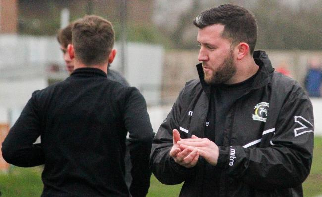 Expecting an extended spell on the sidelines - Basildon United chief Alex Salmon Picture: MATTHEW THOWNEY