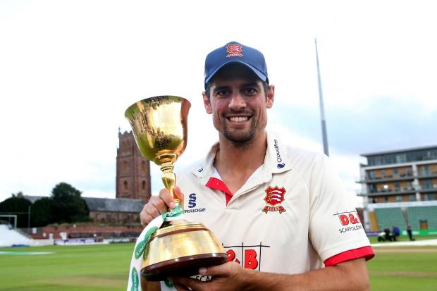Concerns - Essex's Alastair Cook says he would rather the County Championship season was not played at all this season rather than attempting to hold a dramatically condensed campaign Picture: PA