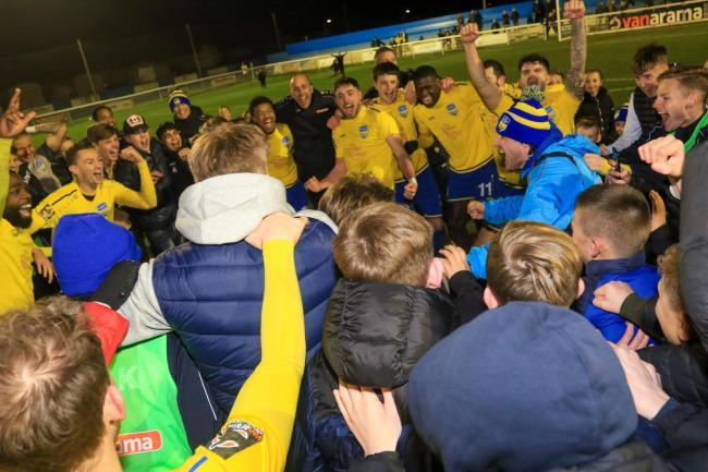 Good season - Concord Rangers had plenty to celebrate      Picture: PAUL RAFFETY
