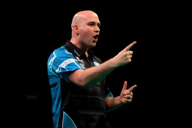 Rob Cross is through to the semi-finals of the PDC Home Tour