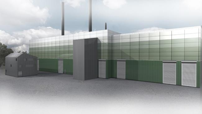 Proposals - an artist's impression of how the new plant could look