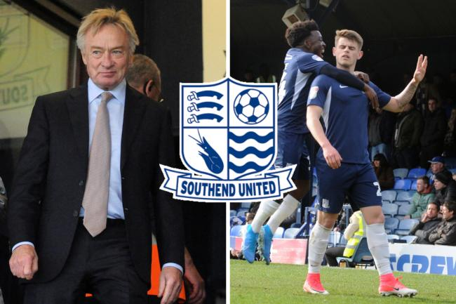 Demanding commitment - Southend United chairman Ron Martin