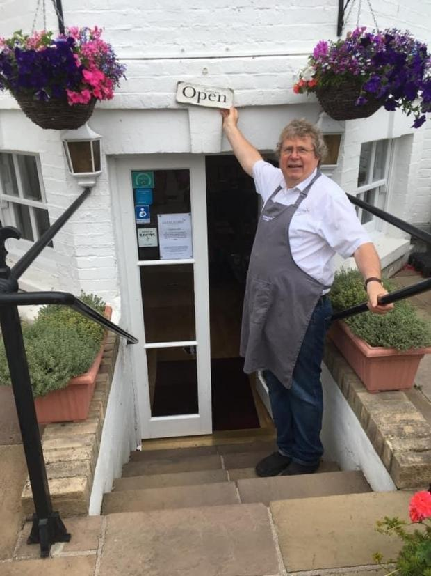 Basildon Standard: Open for business - Garry Lowen at Gleneagles guest house and tea rooms