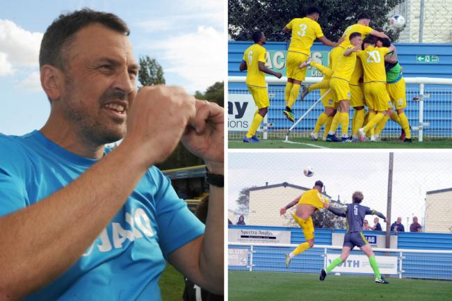 Memorable afternoon - for Danny Scopes and Concord Rangers