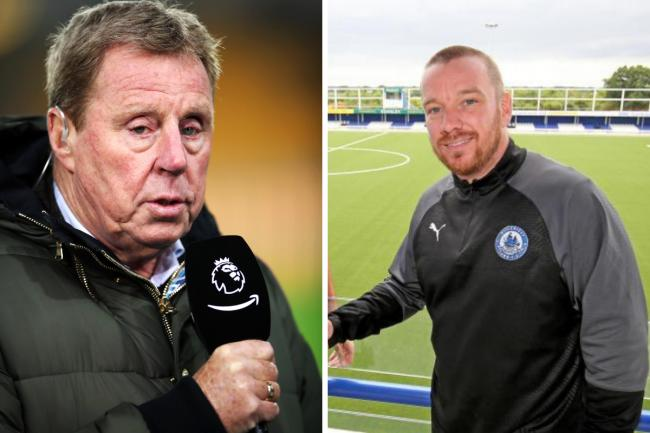 Grateful - Jamie O'Hara (right) will forever be thankful to Harry Redknapp
