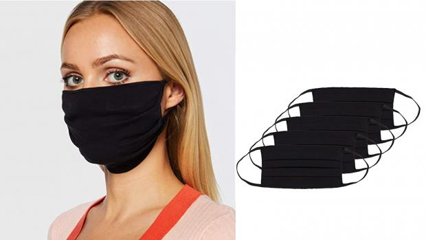 Basildon Standard: These pleated masks make for a better fit. Credit: Amazon / Oscar Apparels