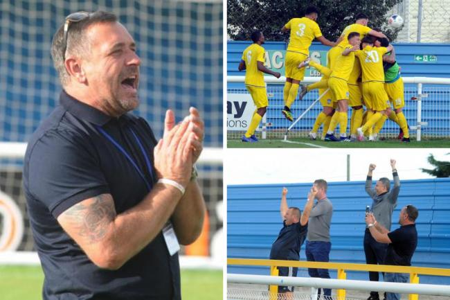 Wanting fans back - Concord Rangers chairman Ant Smith