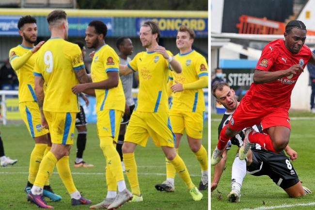 Mixed afternoon - for Concord Rangers and Billericay Town