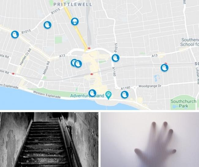 From the legend of Sarah Moore to UFO sightings, Southend has its fair share of paranormal activity.