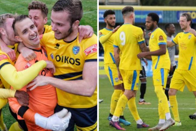 Going through - Canvey Island and Concord Rangers have both reached the first round of the FA Cup