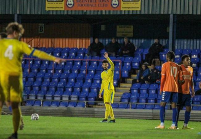 Beaten - Concord Rangers lost 2-0 at Tonbridge Angels    Picture: PAUL RAFFETY
