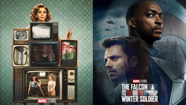 Basildon Standard: WandaVision and The Falcon and The Winter Soldier will premier on Disney Plus in 2021. Credit: Marvel / Disney