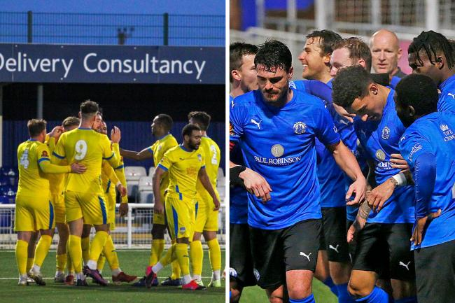 Stopped - Concord Rangers and Billericay Town have seen their season ended