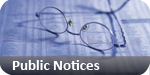Basildon Standard: public notices classified