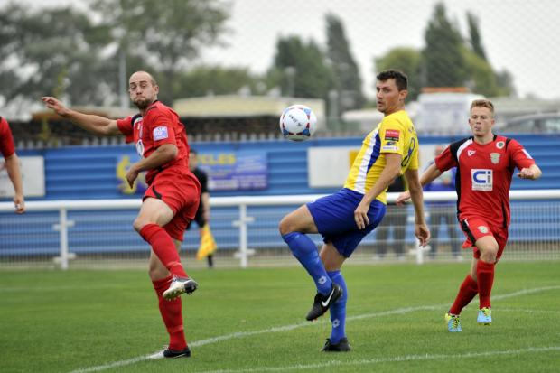 Basildon Standard: Midfield battle – Concord's James White