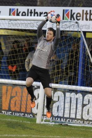 Unbeatable - Josh Vickers in goal for Concord Rangers