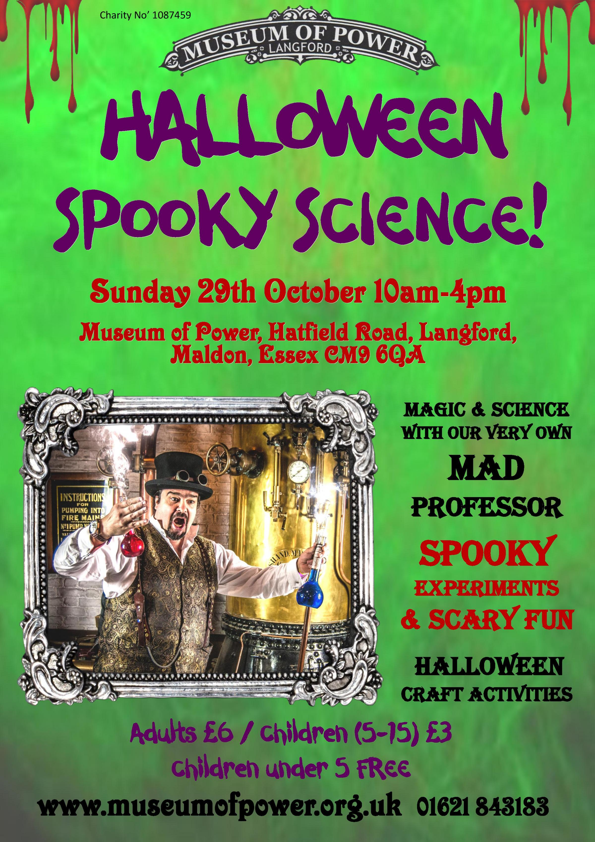 Halloween Spooky Science Day