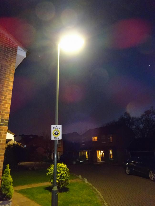 £250k streetlights won't be ready for winter