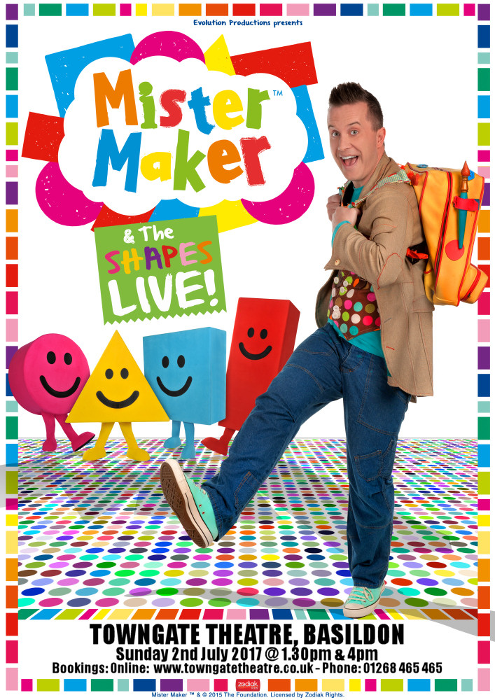 CBeebies Mister Maker and The Shapes Live!