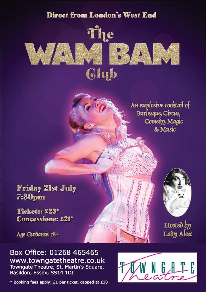 The Wam Bam Club - Direct from London's West End