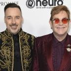 Basildon Standard: Sir Elton John celebrates 70th birthday at Los Angeles showbiz party