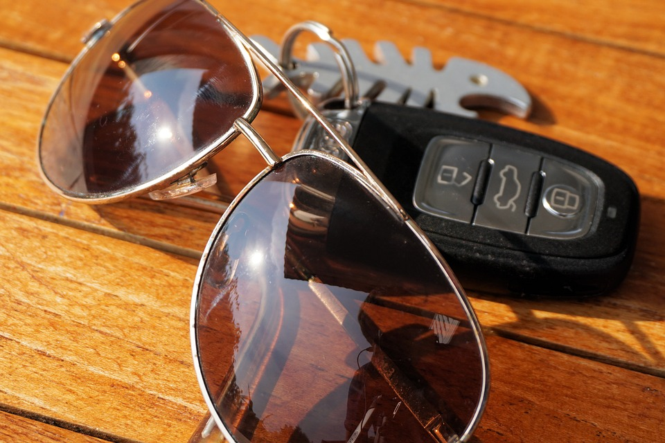 You could be fined and your insurance invalidated if you drive without sunglasses