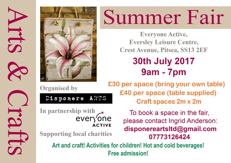 SUMMER ARTS & CRAFT FAIR