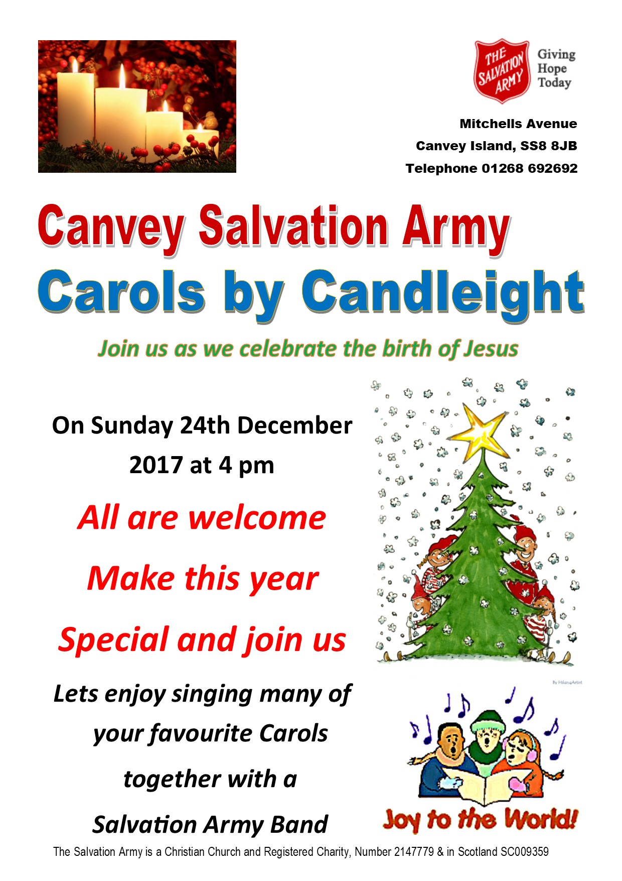 Carols by Candleight