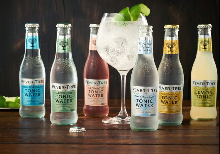 Gin tasting with Fever Tree