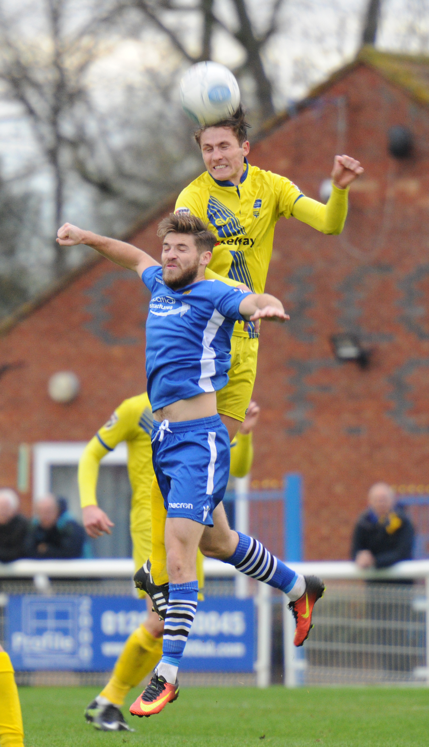 Hoping for a recall - Concord Rangers defender Billy Roast