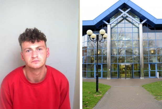 Man jailed for robbing woman, 94, driving dangerously and headbutting police officer