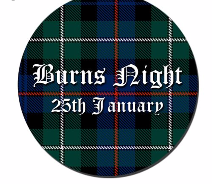 Burns night at the Foresters Arms