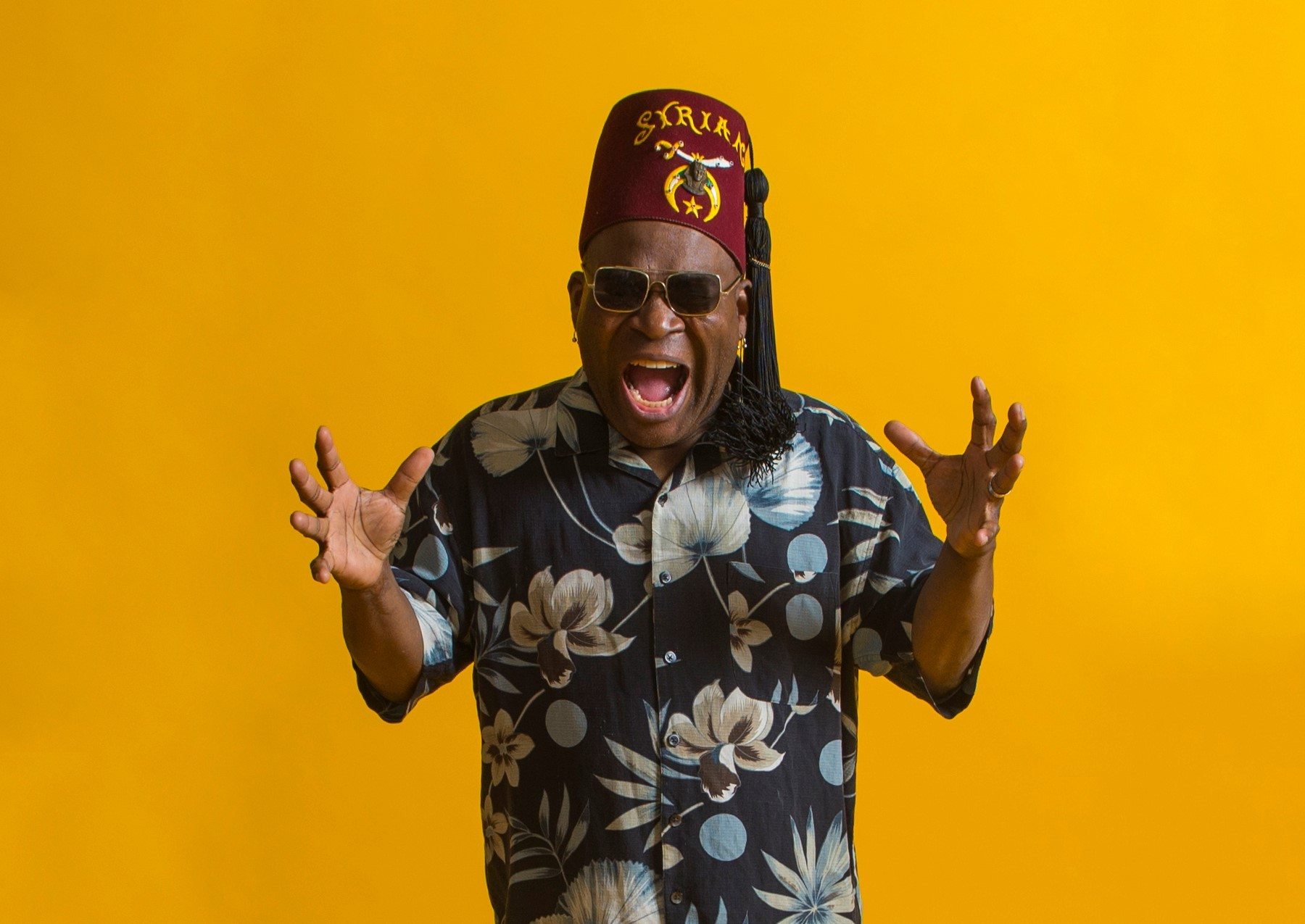 Big voice - Barrence Whitfield will be at the Railway Hotel in May